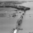 История и снимки строительства моста Окленд Харбор Бридж в 1950-х годах