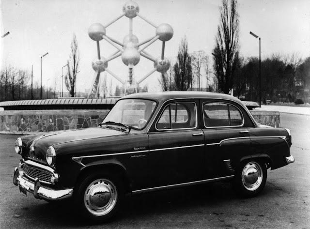 1962 г. Scaldia Special De Luxe (Москвич 407)