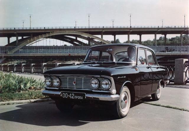 1963 г. Москвич 408-E