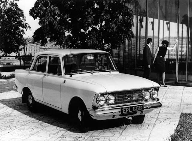 1965 г. Москвич 408-E
