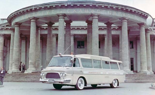 1965 г. ЗИЛ 118А Скорая помощь «Юность»