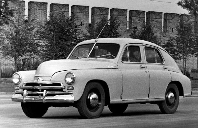 1955 г. ГАЗ М-20 Победа. 3-е поколение (1955-1958)