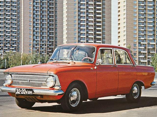 1969 г. Москвич 412. 1-е поколение