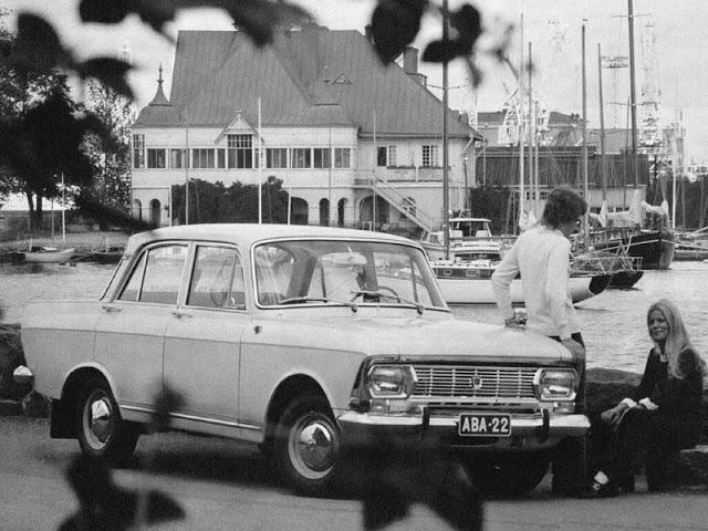 1969 г. Москвич Элита 1500М