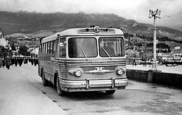 1955 г. ЗИС-127 Москва. 1-е поколение (1956-1960)