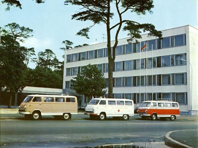 1969 г. РАФ 977 «Латвия»