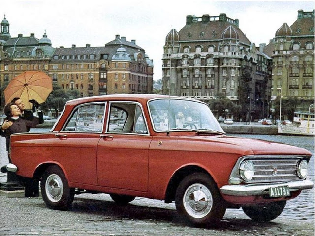 1969 г. Скальдия 408 (Москвич 408)