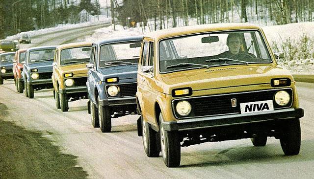 1977 г. Лада Нива