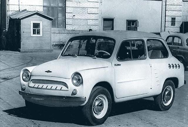 1958 г. МЗМА Москвич 444