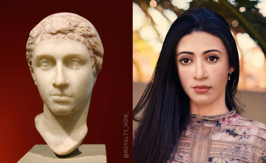 Клеопатра VII Филопатор — последняя царица эллинистического Египта из македонской династии Птолемеев
