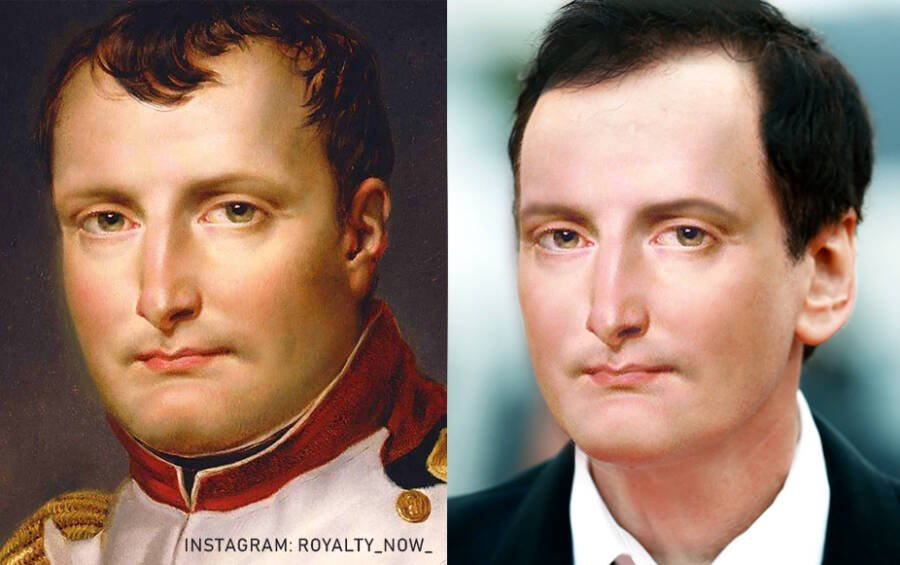 Наполеон I Бонапарт — император французов в 1804—1814 и 1815 годах