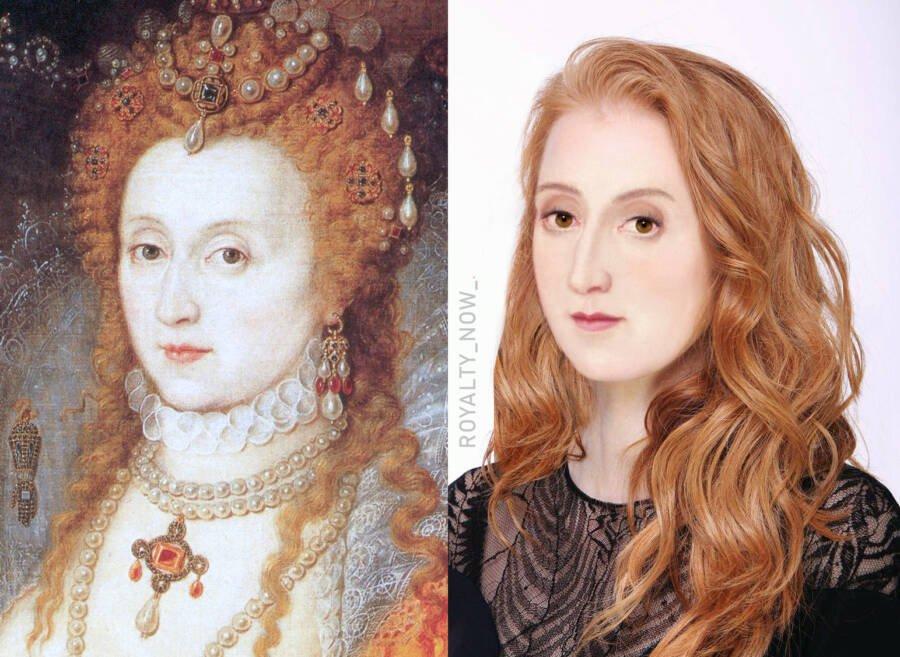 Елизавета I - королева Англии и Ирландии с 17 ноября 1558 года