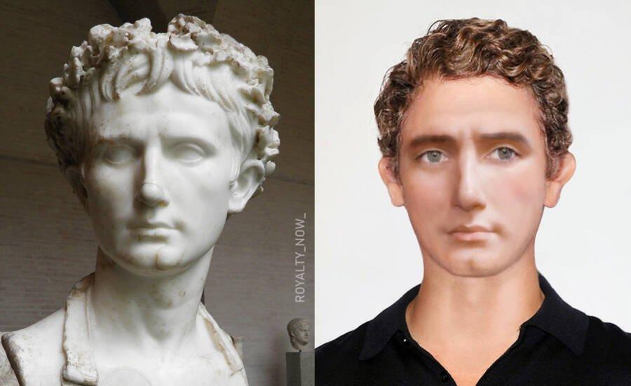 Октавиан Август — древнеримский политический деятель, основатель Римской империи