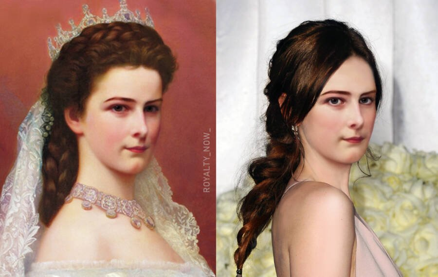 Елизавета Баварская - императрица Австрии