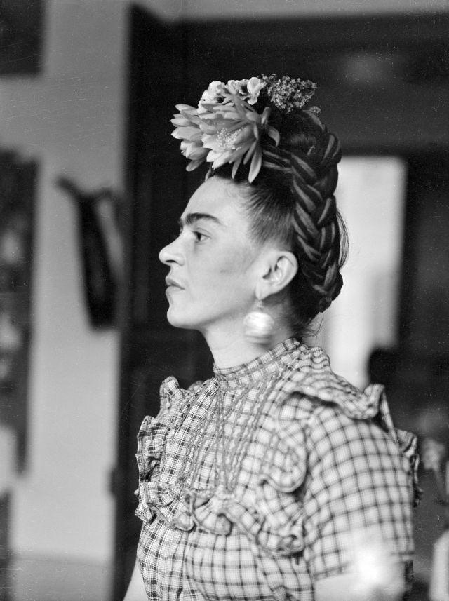 Портрет Фриды Кало, сделанный Сильвией Салми