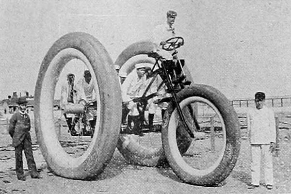 Для чего был построен гигантский трёхколёсный велосипед