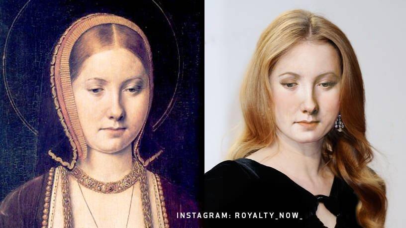 Екатерина Арагонская - дочь основателей испанского государства Фердинанда Арагонского и Изабеллы Кастильской