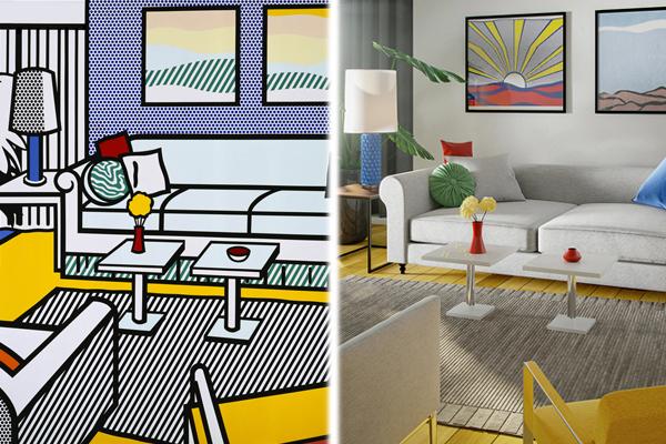 Как выглядят комнаты из известных картин в реальной жизни