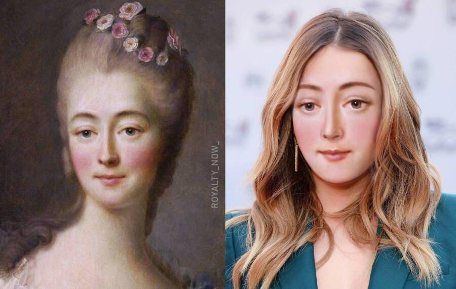 Жанна Дюбарри - официальная фаворитка французского короля Людовика XV
