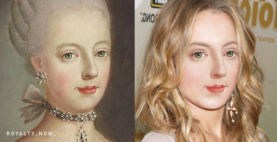 Мария-Антуанетта - королева Франции и Наварры