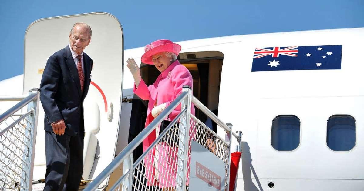 Королева Елизавета II и герцог Эдинбургский