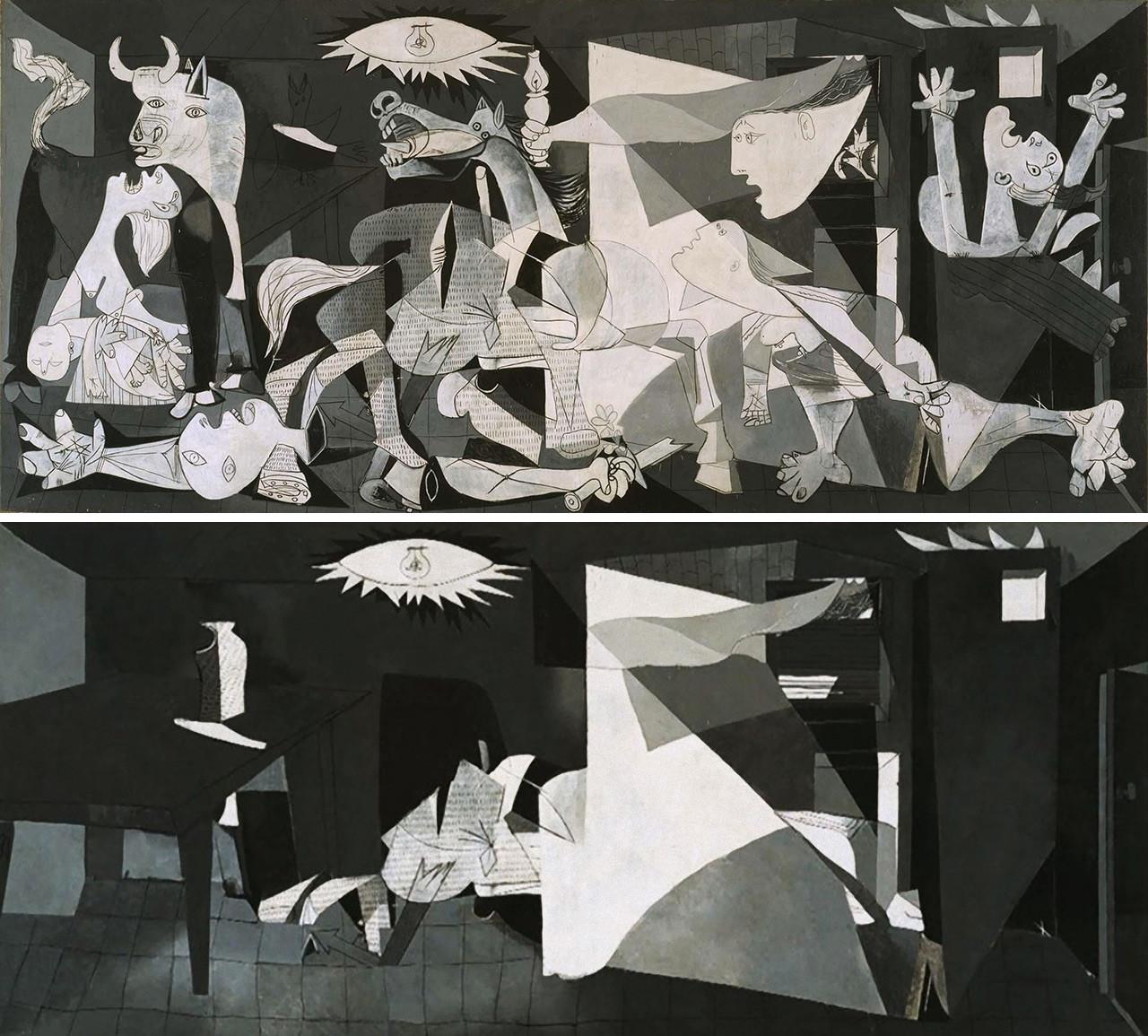 «Герника», Пабло Пикассо, 1937 г.