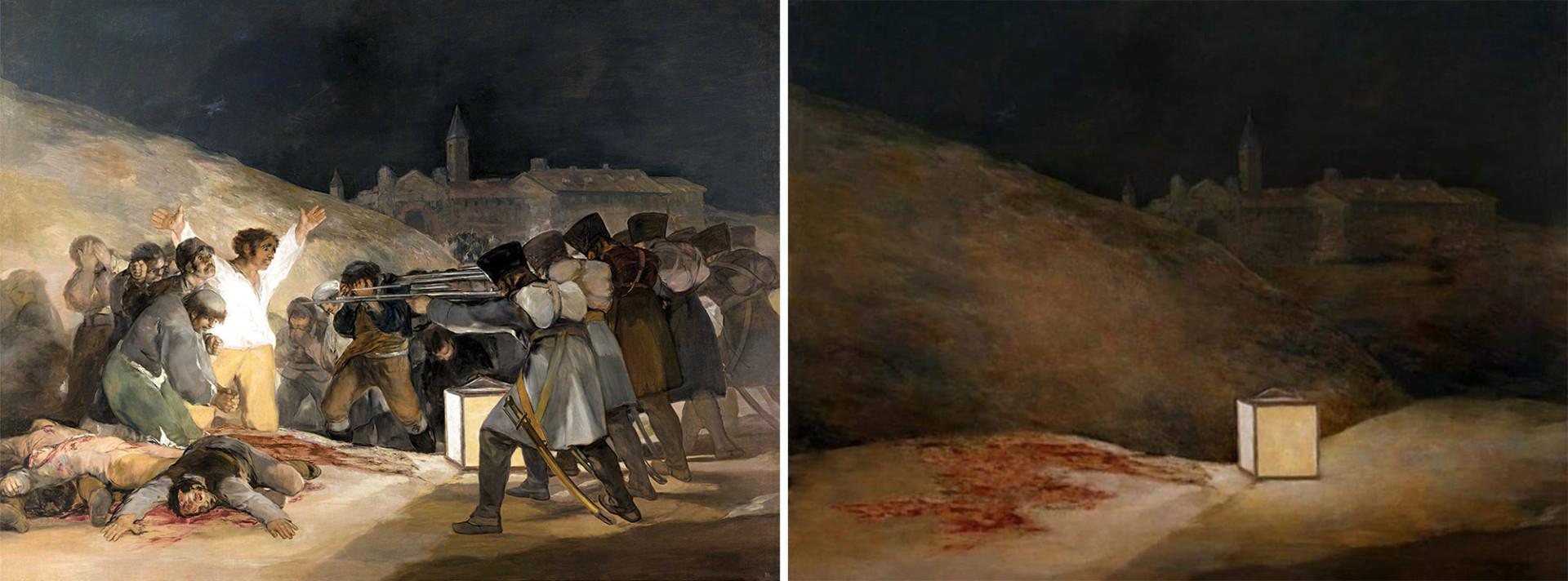 «Третье мая 1808 года в Мадриде», Франсиско Гойя, 1814 г.