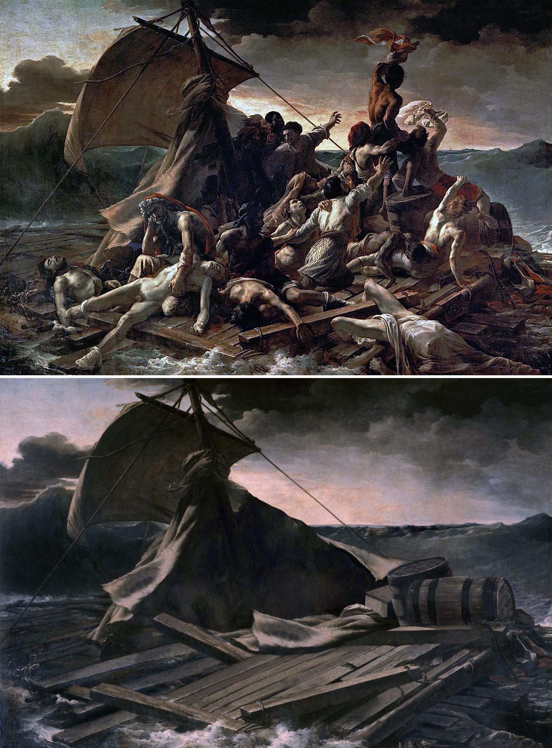 "«Плот ""Медузы""», Теодор Жерико, 1819 г."