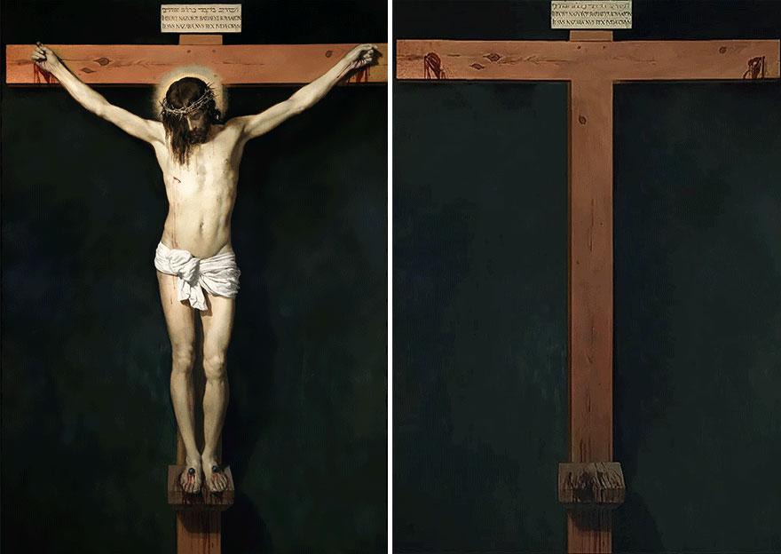 «Христос на кресте», Диего Веласкес, 1632 г.