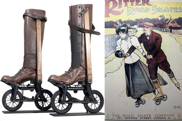 Коньки Риттер — предки роликовых коньков