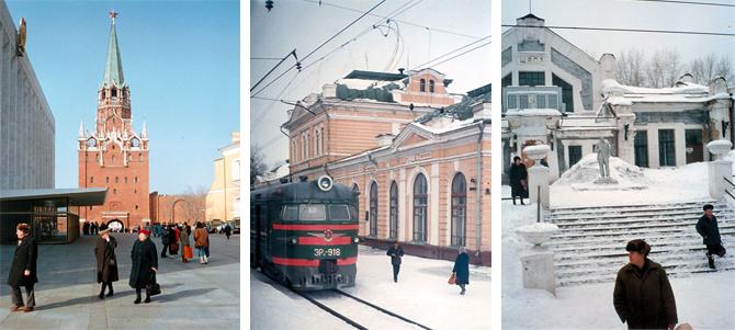 Улицы Советского Союза в марте 1990 года