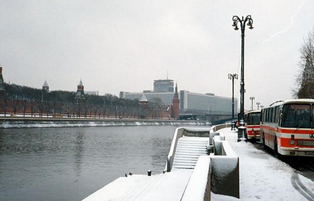 Москва, Кремль и гостиница Россия