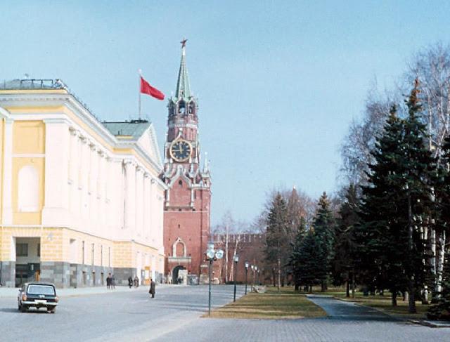 Москва, Спасская башня