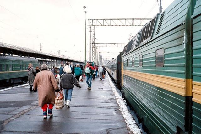 Москва, Ярославский вокзал