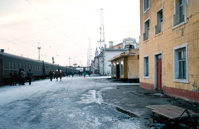 Нижнеудинский вокзал