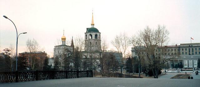 Храм Спаса Нерукотворного Образа в Иркутской области