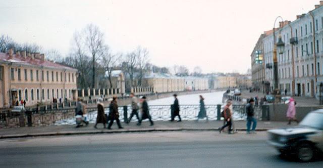 Ленинград, река Мойка
