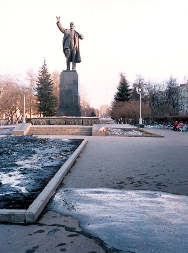 Ленин в Иркутске