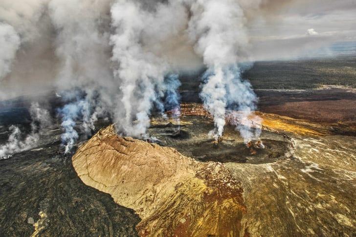 Гавайский вулканический национальный парк