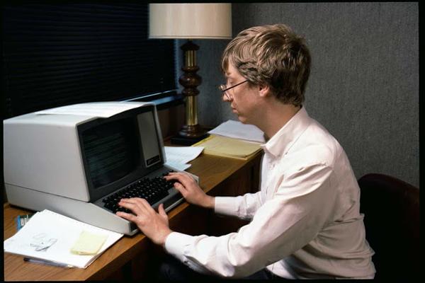 Редкие фотографии молодого Билла Гейтса в 1984 году