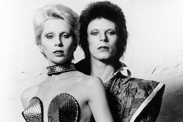 Фотографии Дэвида Боуи и его жены Анджелы, 1973 год