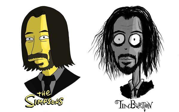 Как бы выглядели знаменитости в разных мультяшных стилях