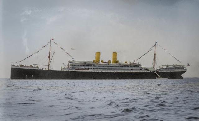 Пароход Grosser Kurfürst впервые посетил Хельсинки