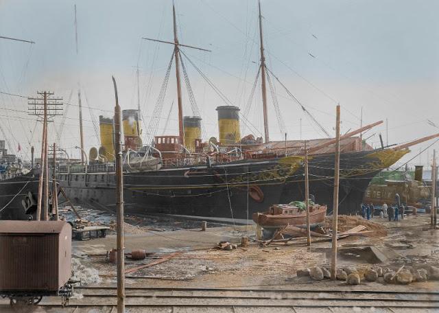Императорская яхта «Штандарт» в Хельсинки