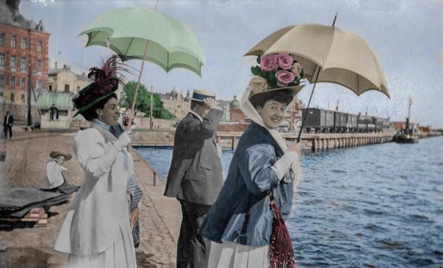 В ожидании лодки в Хельсинки