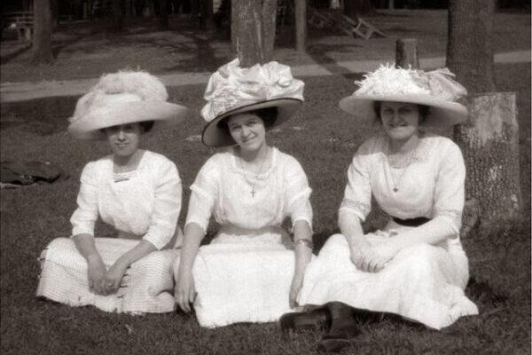 Чарующие снимки, показывающие моду женщин Эдвардианской эпохи