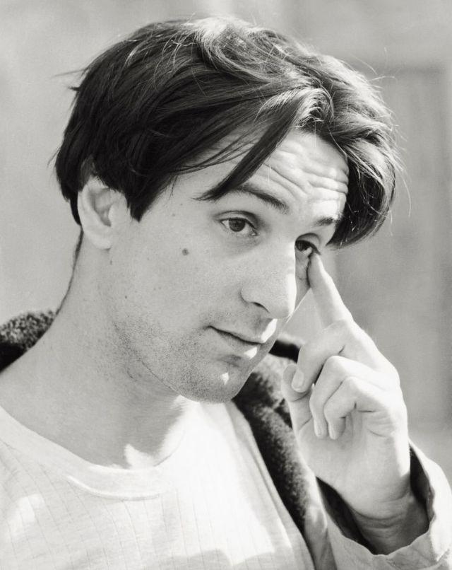 Молодой Роберт Де Ниро в 1975 году