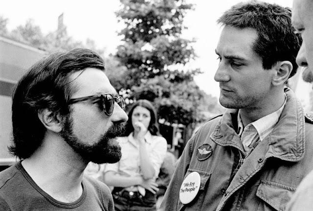 Де Ниро и Мартин Скорсезе, «Таксист», 1975 год