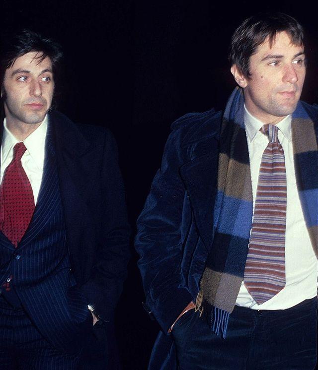 Де Ниро и Аль Пачино, 1977 год