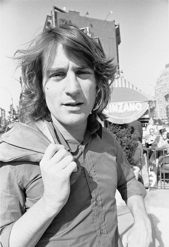 Молодой Роберт Де Ниро в 1973 году